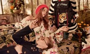 Gucci Pre-Fall 2016 Advertising Campaign.
