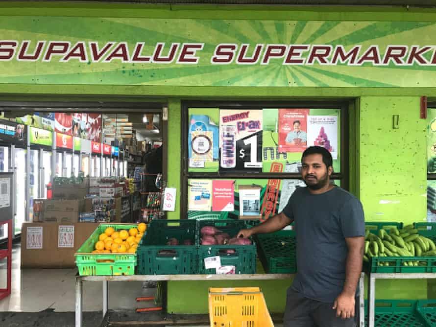 Moinul Khan of Supervalue Supermarket Otara, Auckland.