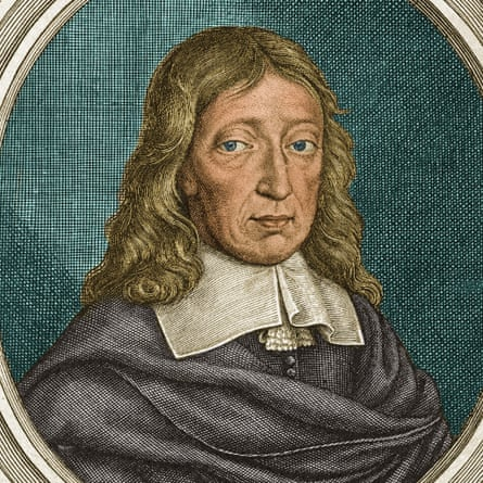 A 1670 portrait of John Milton.