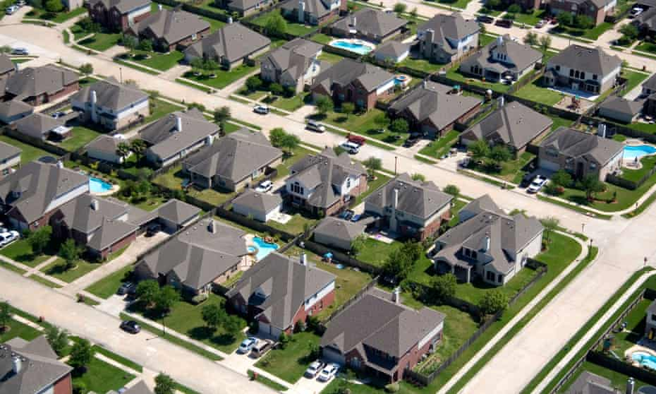 Houston's car-centric suburbs continue to expand along with its residents' waistlines.