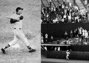 Ted Williams' last home run.