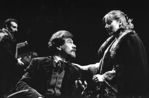 1992 In Pam Gems' version of Chekhov's Uncle Vanya at the Cottesloe, with Antony Sher and Lesley Sharp
