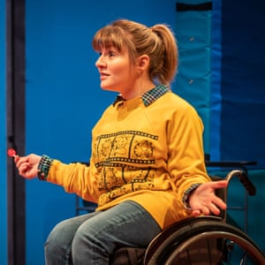 Ruth Madeley in Teenage Dick at the Donmar Warehouse.