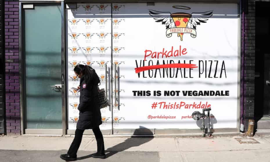The attempted 'rebranding' of Parkdale in Toronto saw a local backlash.
