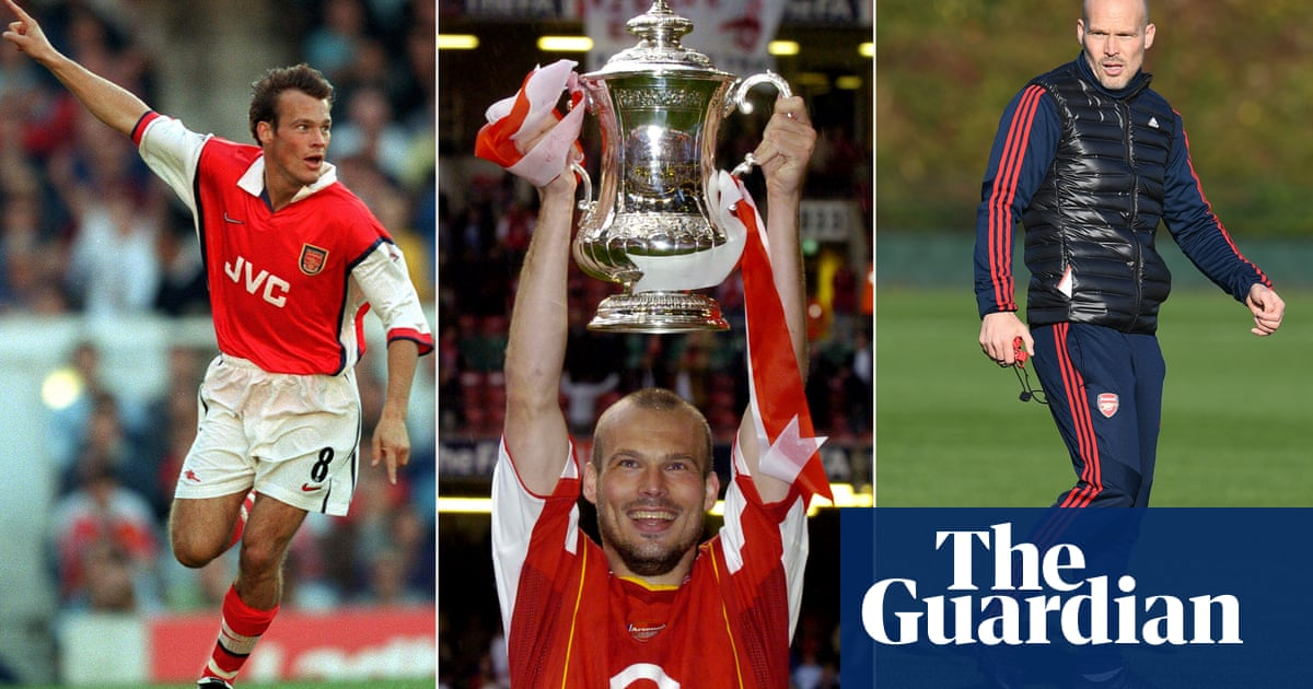 Freddie Ljungberg: 'Arsenal needed a big trophy every year. I loved it'