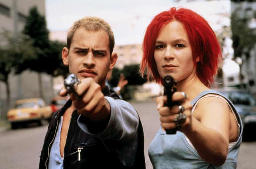 Not cut out for life as a mafia bagman ... Moritz Bleibtreu and Franka Potente.
