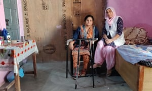Karamjit Kaur Aulakh (left) with Baljit Kaur Khalsa (right), who also took part in the 23 day hunger strike