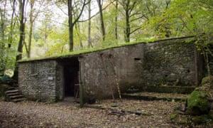 The Merz Barn in Langdale, Cumbria