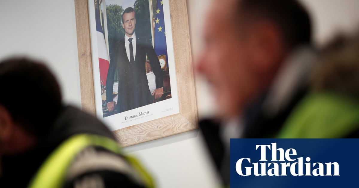 Gilets jaunes: small French town braces for mass demonstration