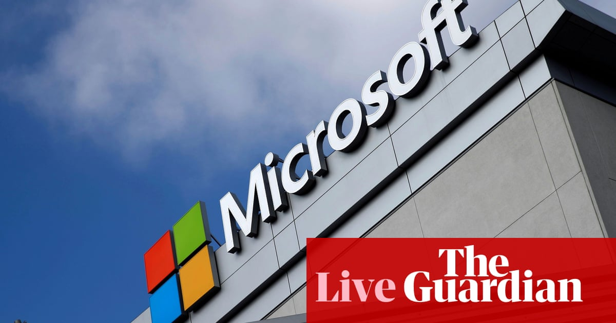US justice department charges four Chinese nationals in Microsoft Exchange hack – live