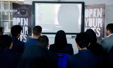 Online campaign 'Open Your Eyes'