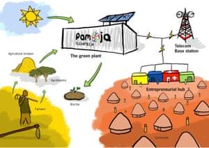 The Pamoja system