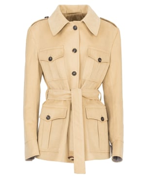 RBW PR - Giuliva Heritage Collection - AW18 - The Sahariana Jacket - Desert Sand - Front - £ 1,345