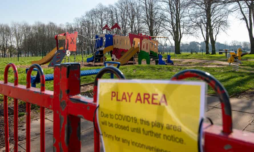 The thinktank says parks should be made available to children.
