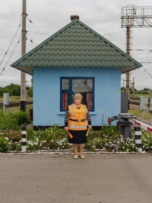 Valentyna Mykolaivna Hunbina, 83 km crossing, Kolomak Station, Sothern Railways