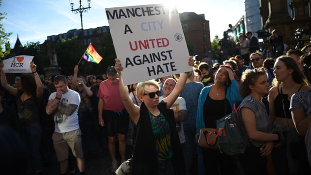 Image result for manchester bombing 2017 guardian
