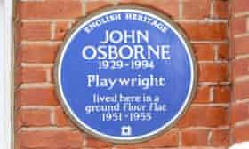 Osborne's plaque.