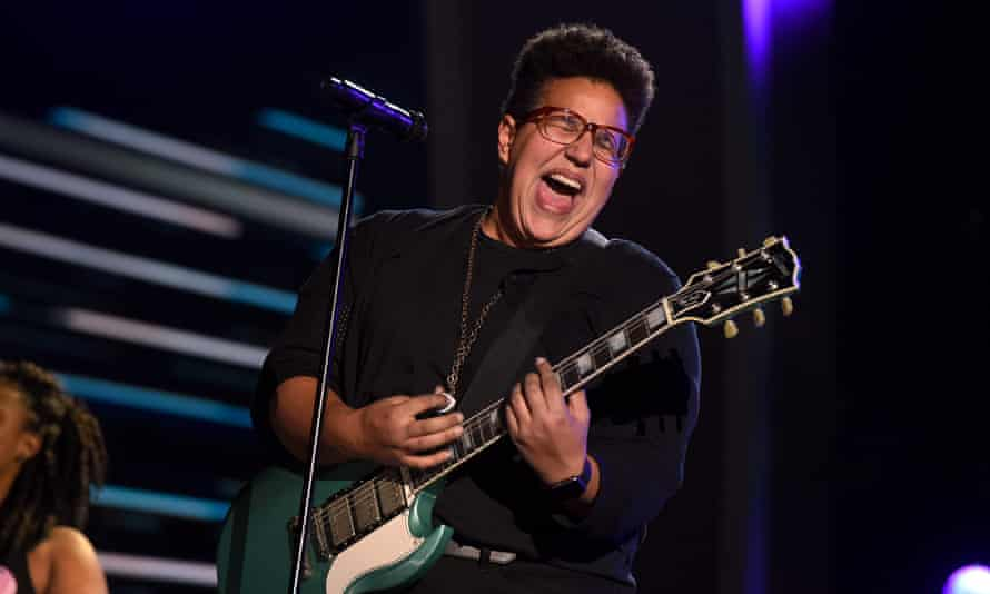 Brittany Howard from Alabama Shakes: the band are up for several gongs.