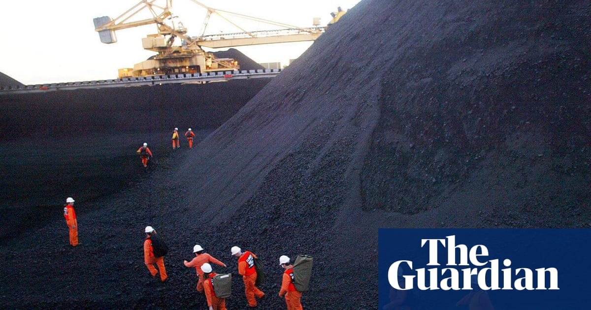 Australia is third largest exporter of fossil fuels behind Russia and Saudi Arabia