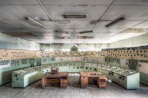 The control room at White Bay