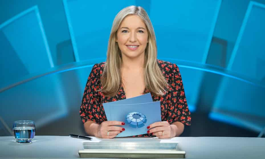Horned viper or eye of horus? ... Only Connect's host Victoria Coren-Mitchell.