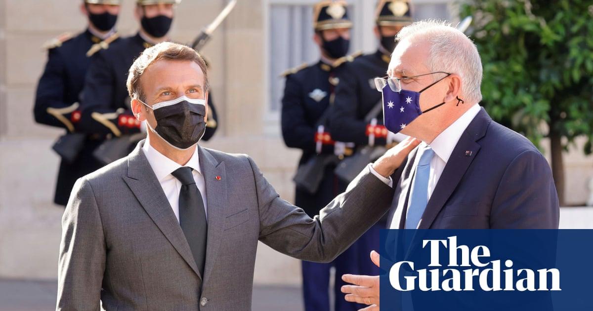 Macron yet to take call from Australia's Scott Morrison over sub snub