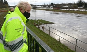 The prime minister spoke about lockdown restrictions while visiting the flood-hit Greater Manchester area.