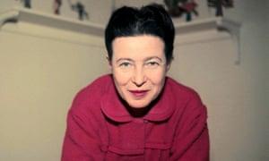 Simone de Beauvoir in 1957.