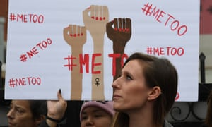 A #MeToo march in Hollywood, California.