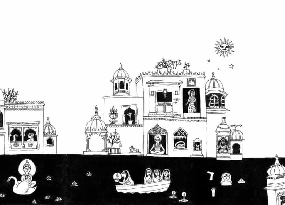 Lake city: the palaces