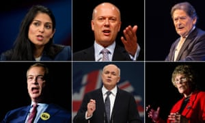 Front runners to lead Brexit campaign
