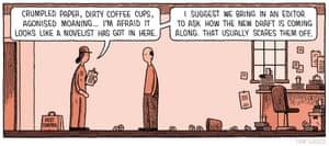 Tom Gauld on literary pest control – cartoon | Books | The Guardian