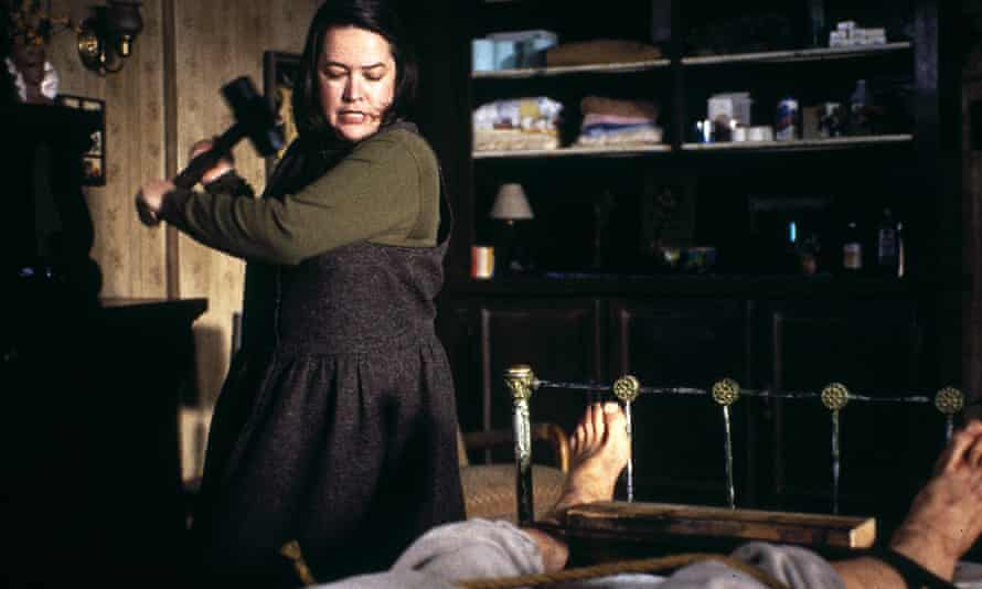 Kathy Bates in the 1990 film adaptation of Misery.