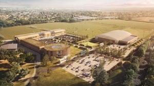 Warren Farm QPR training ground proposal May 2015