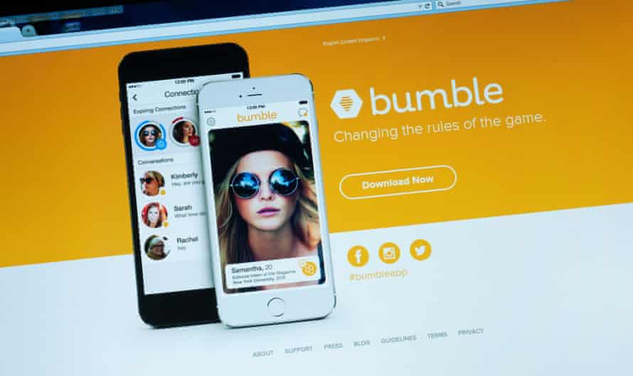 Bumble online dating app