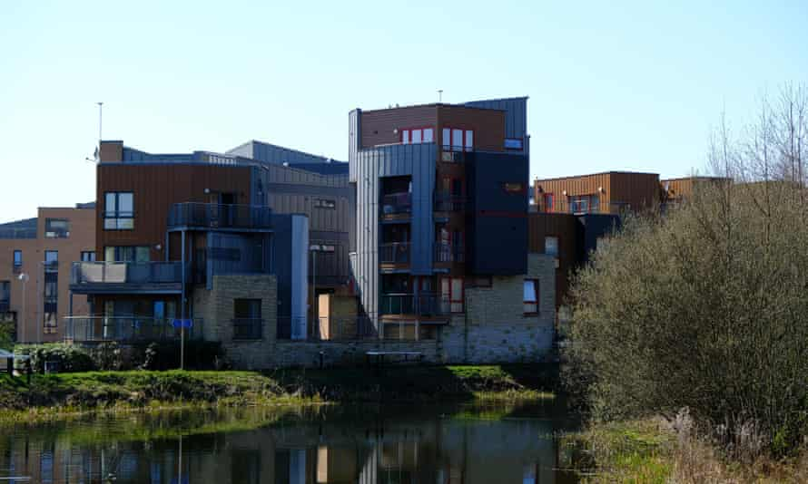 Flats by the canal