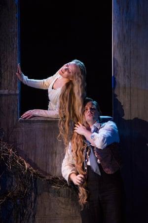 'Scorching purity': Carolyn Sampson as Scottish Opera's Mélisande, with Andrei Bondarenko as Pelléas.