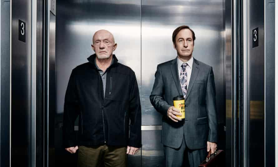 With Jonathan Banks in Better Call Saul.
