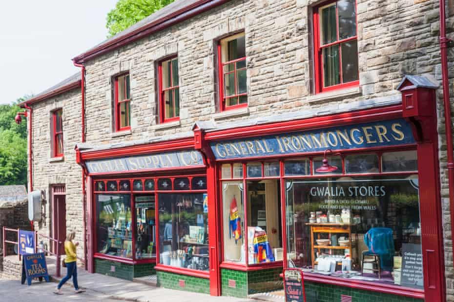 St Fagan's, Museum of Welsh Life, Gwalia Supply StoreCardiff,