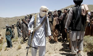Armed militants in Shindand district of Herat province, Afghanistan