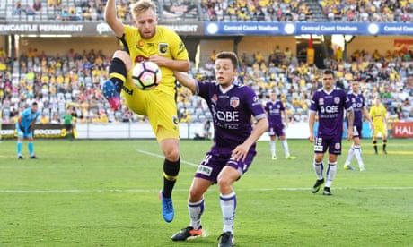 A-League: Central Coast Mariners upset Perth Glory in Gosford