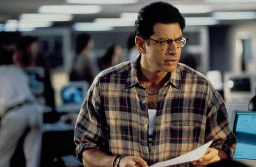 Jeff Goldblum in the film Independence Day.