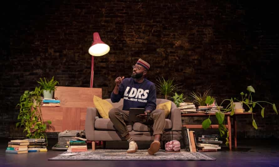 Inua Ellams presents Search Party at the Donmar Warehouse.