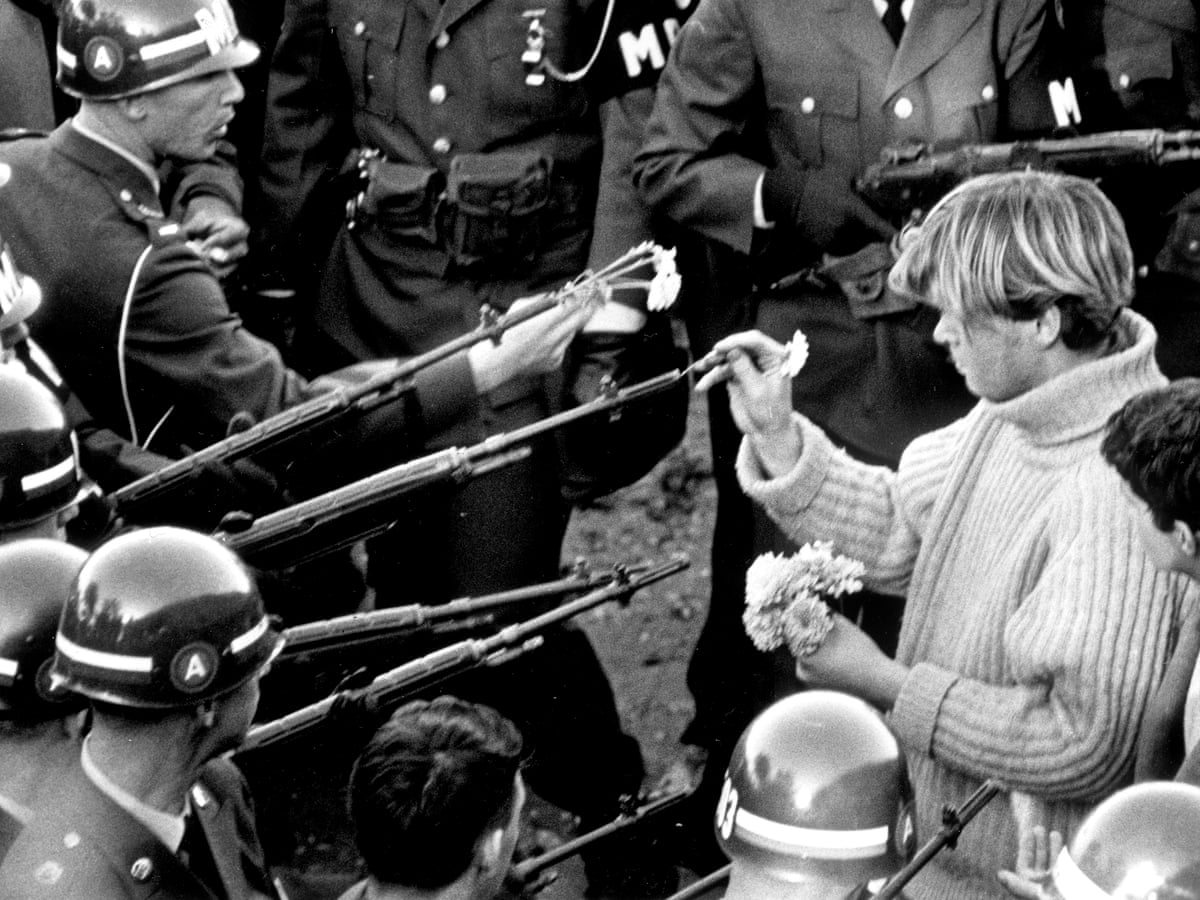 How This 1967 Vietnam War Protest Carried The Seeds Of American Division Us News The Guardian