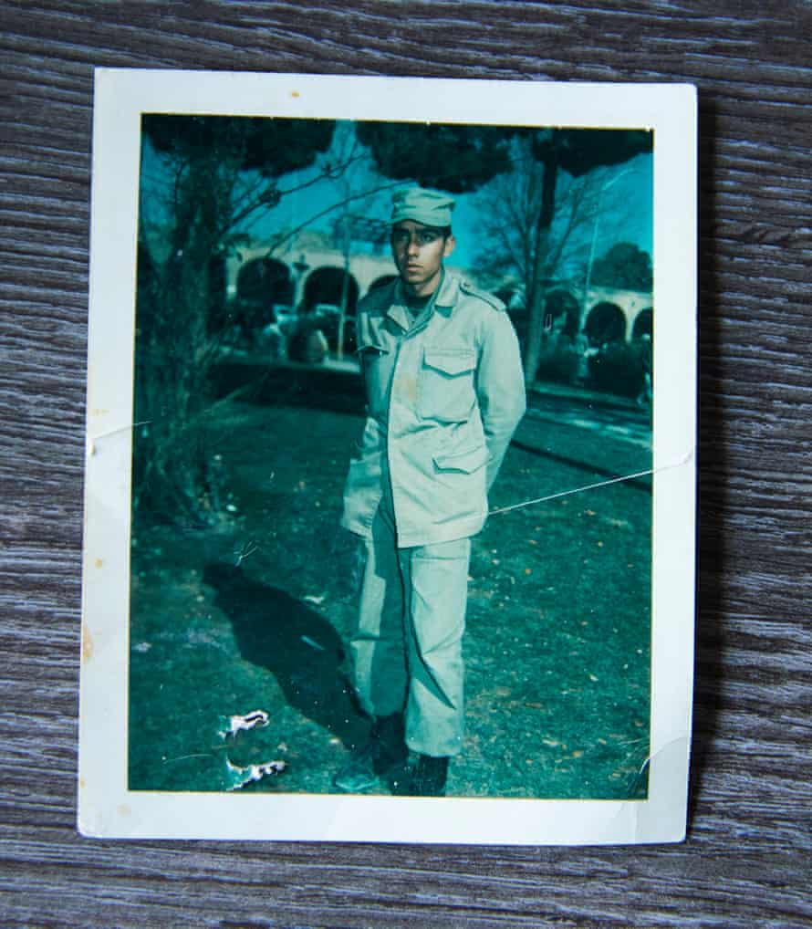 In 1981, when he turned 19, Hamid was conscripted into the army to fight in the Iran-Iraq war
