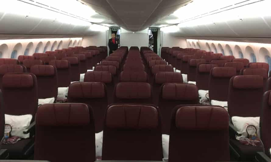 The view from economy class