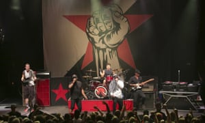 'We're like the all-stars' ... Prophets of Rage perform at the 9:30 Club in Washington