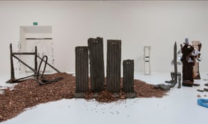 Michael Dean's Turner prize installation included a pile of pennies amounting to £20,436.