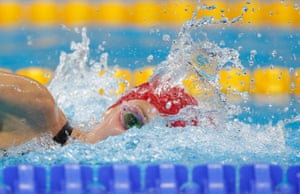 A distant second but its another silver medal for Jazz Carlin.