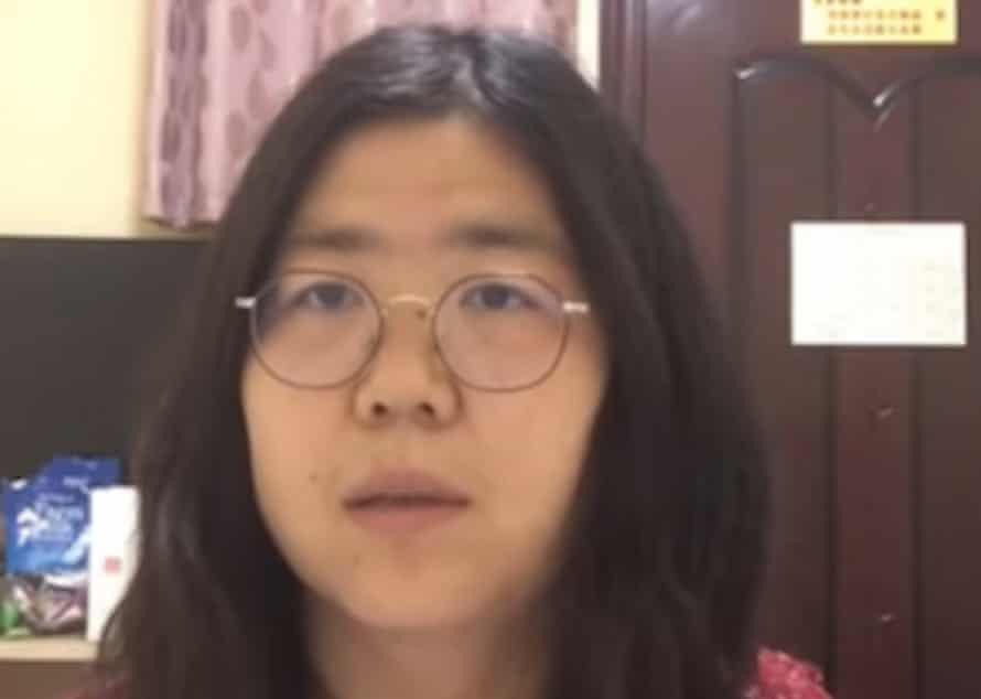 Zhang Zhan.